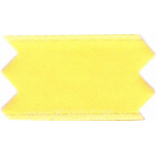 Satin Ribbon double face 25mm Citron Yellow (by meter)