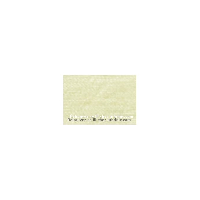 Fil polyester Mettler 200m Couleur n°0129 Vanille