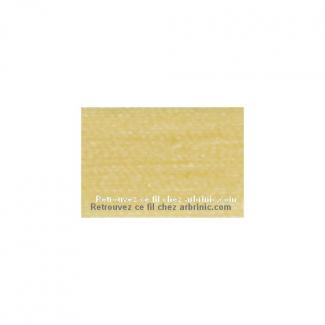 Fil polyester Mettler 200m Couleur n°1454 Banane