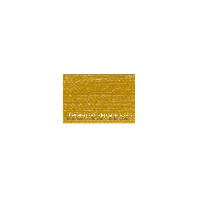 Fil polyester Mettler 200m Couleur n°0892 Or Etoilé