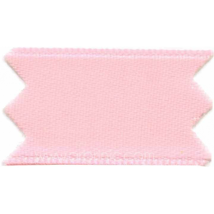 Satin Ribbon double face 11mm Princess Pink (by meter)