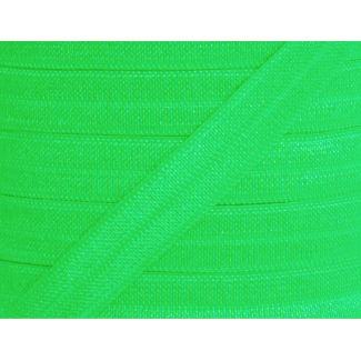Biais élastique lingerie Oekotex 15mm Vert Pomme (bobine 25m)