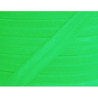 Shinny Fold Over Elastic Oekotex 15mm Apple Green (25m bobin)