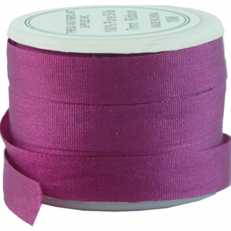 Silk Ribbon 7mm Azalea (10m spool)