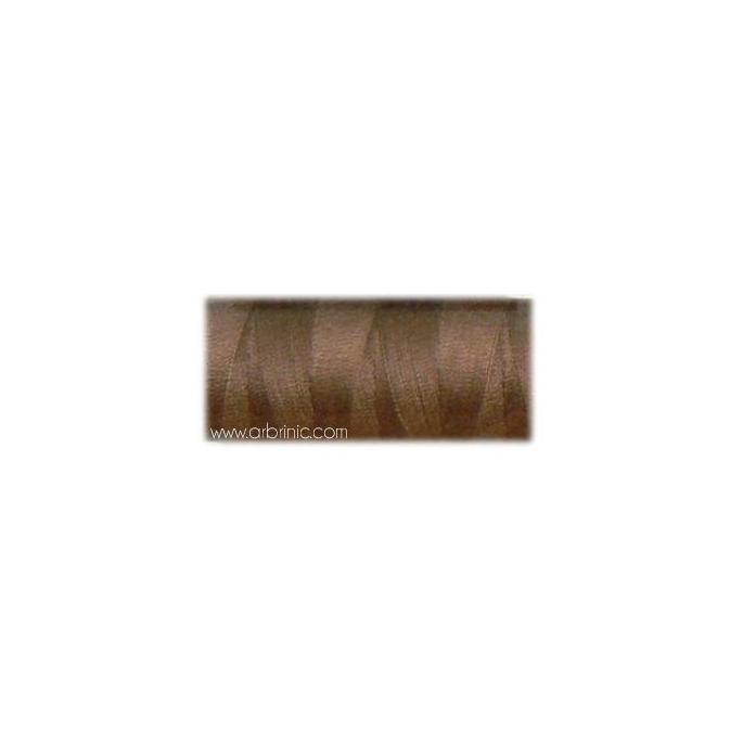 Fil polyester QA 500m Couleur 380 Marron