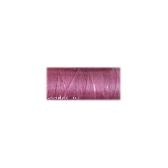 Fil polyester QA 500m Couleur 190 Rose Vif
