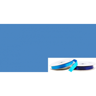 Satin Ribbon 13mm Medium Blue (20m roll)