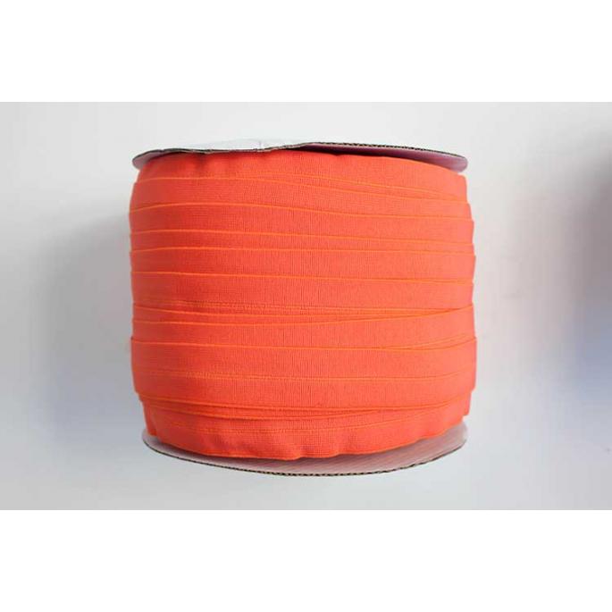 Fold Over Elastic 1 inch Orange (1m)