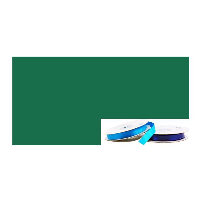 Satin Ribbon 13mm Dark Green (20m roll)