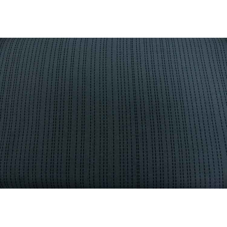 Cotton Print Stitch Grey Michael Miller per 10cm