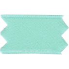 Satin Ribbon double face 11mm Light Turquoise (by meter)