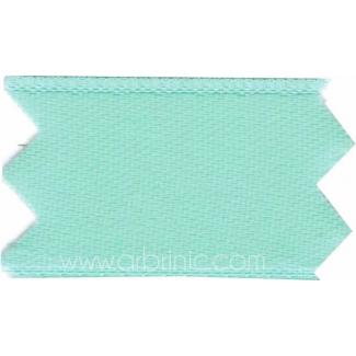 Ruban Satin double face 11mm Turquoise Clair (au mètre)