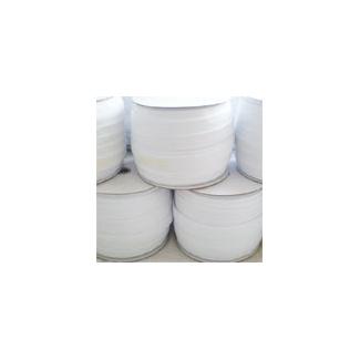 Biais élastique 2.5cm Blanc (Bobine 100m)