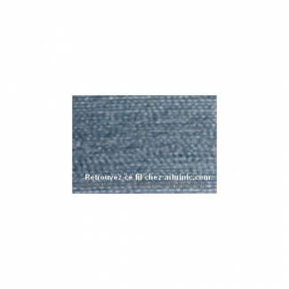 Fil polyester Mettler 200m Couleur n°0042 Bleu Cendre