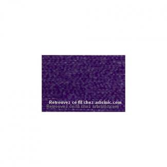 Fil polyester Mettler 200m Couleur n°0046 Violet Profond