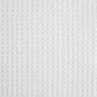 Nid d'abeille coton Oekotex - Blanc - laize 150cm (au mètre)
