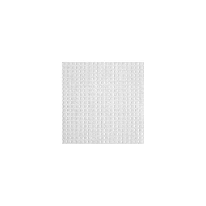 Nid d'abeille coton Oekotex Blanc