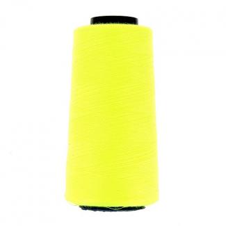 Cône fil polyester Jaune Fluo (2743m)