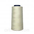 Cône fil polyester Ecru (2743m)