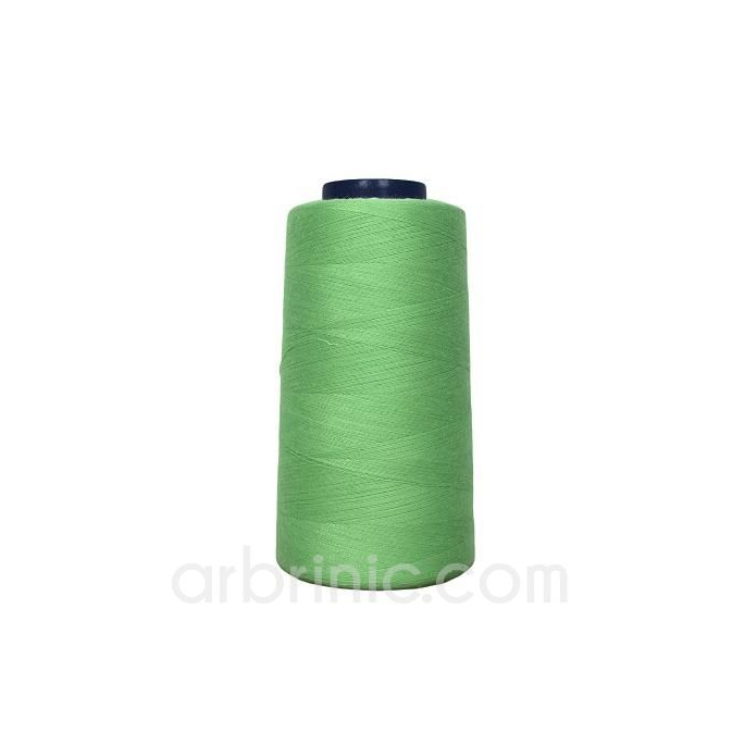 Polyester Serger and sewing Thread Cone (2743m) Apple Green