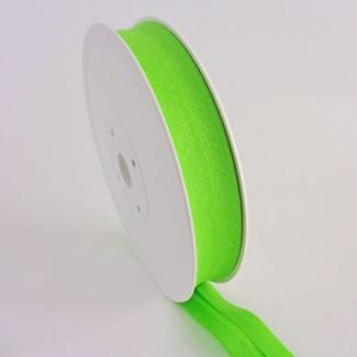 Single Fold Bias Binding 20mm Green Apple (by meter)