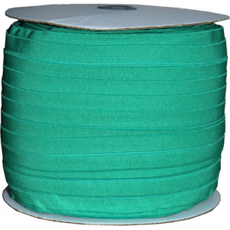 Fold Over Elastic 1 inch Kelly green (100m roll)
