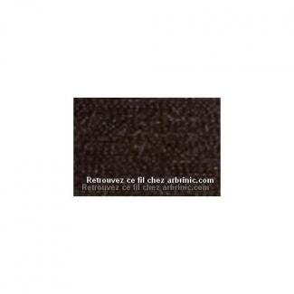 Fil polyester Mettler 200m Couleur n°0428 Chocolat