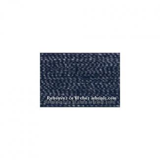 Fil polyester Mettler 200m Couleur n°0810 Bleu Noir