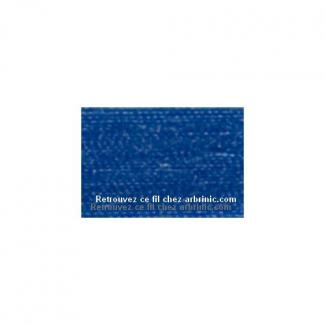 Fil polyester Mettler 200m Couleur n°0815 Bleu Cobalt