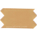 Satin Ribbon double face 11mm Light brown (by meter)