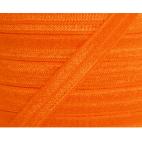 Biais élastique lingerie Oekotex 15mm orange (au mètre)