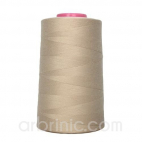 Polyester Serger and sewing Thread Cone (4573m) Beige