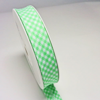 Single Fold Bias Check Green 20mm (by meter)