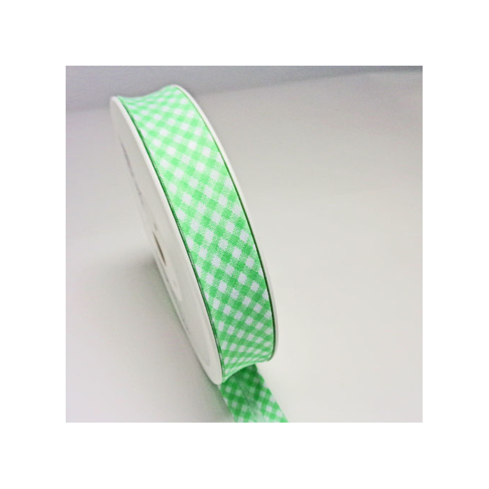 Single Fold Bias Check Green 20mm (by meter)
