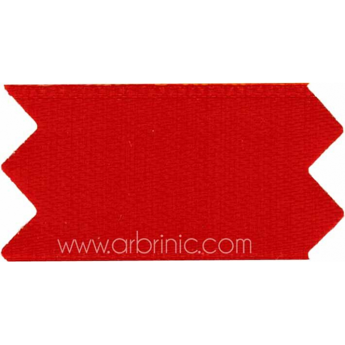 Satin Ribbon double face 11mm Red (by meter)