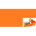 Satin Ribbon 38mm Orange (20m roll)