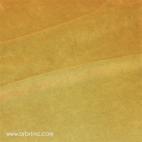 Velours de coton Oekotex Jaune Safran (au mètre)