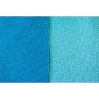 PUL Oekotex bi-face Aqua / Turquoise