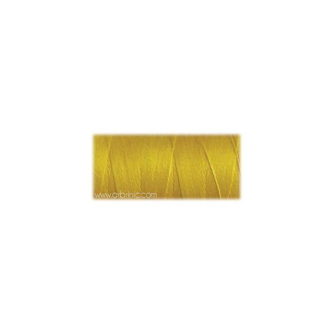 Fil polyester QA 500m Couleur 150 Jaune