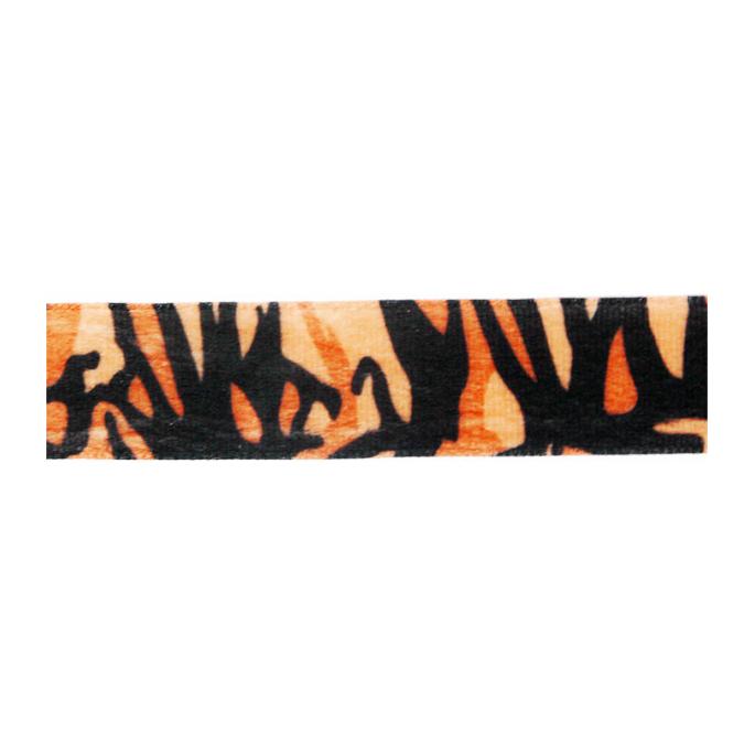 Velvet Ribbon 25mm Tiger (by meter)