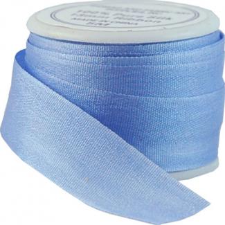 Ruban Soie 13mm Bleu Clair (bobine 5m)