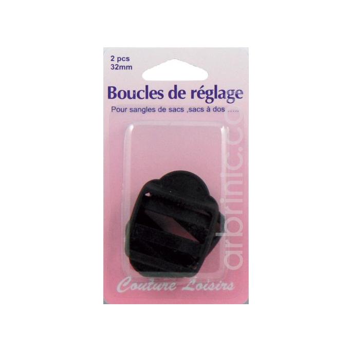 Travel Bag Strap Adjustable Buckle 32mm (x2)