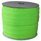 Biais élastique 2.5cm Vert flashy (Bobine 100m)