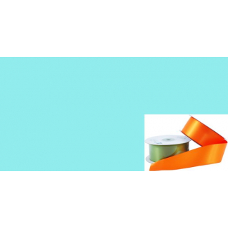 Satin Ribbon 38mm Pale Blue (20m roll)