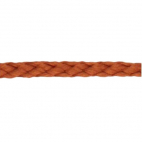Braided Poly Cord 5mm Brown (by meter)