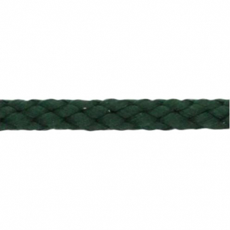 Braided Poly Cord 5mm Dark Green (by meter)