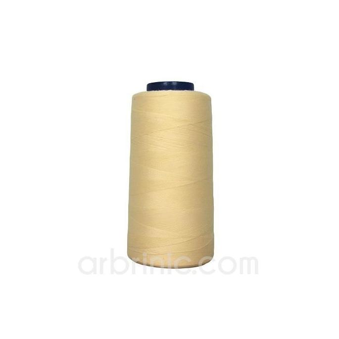 Cône fil polyester Crème (2743m)