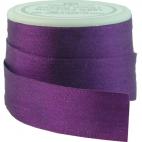 Ruban Soie 13mm Violet (bobine 5m)