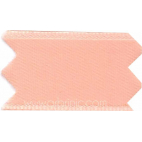 Satin Ribbon double face 11mm Peach Pink (by meter)