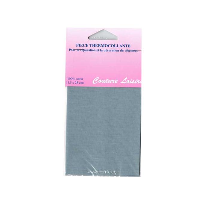 Iron-on mender - Lightweight cotton Light Grey